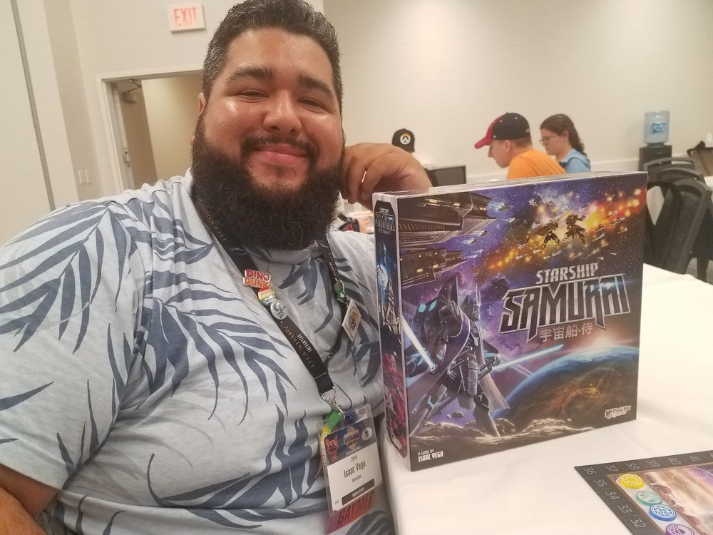 Starship Samurai designer Isaac Vega.