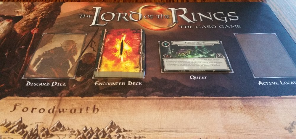 Open Seat Gaming: The Lord of the Rings Card Game - Solo