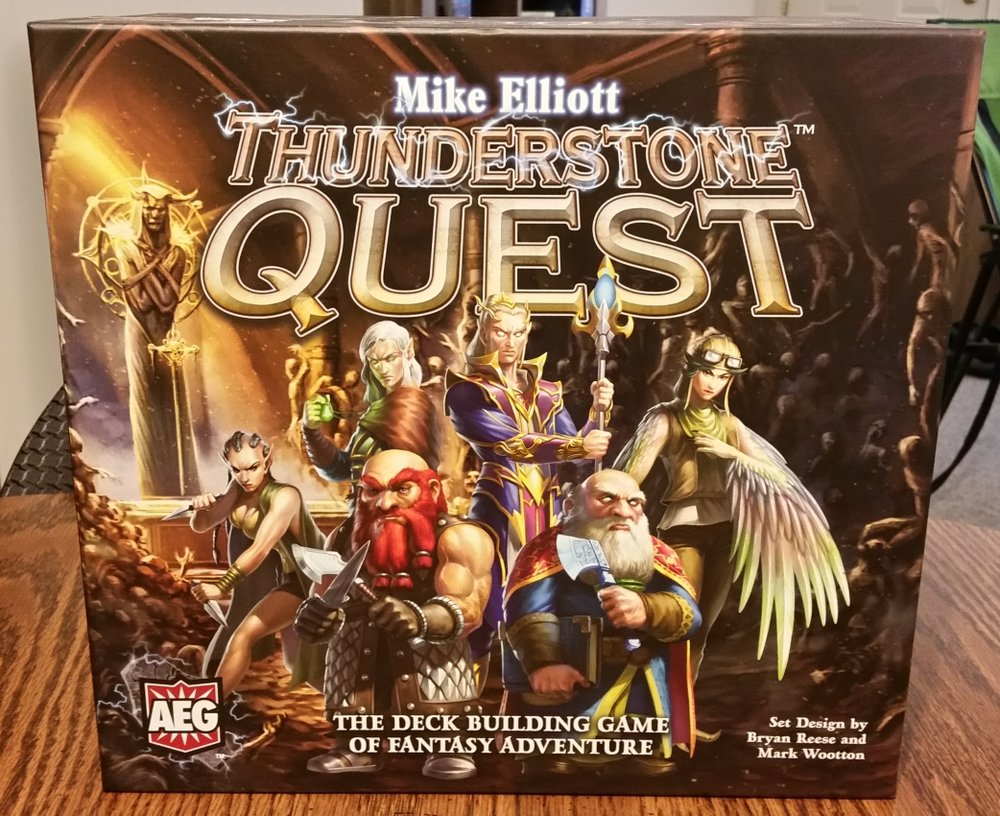 open seat gaming thunderstone quest review punchboard media