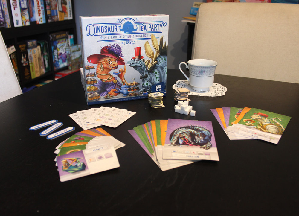 one board family dinosaur tea party review punchboard media