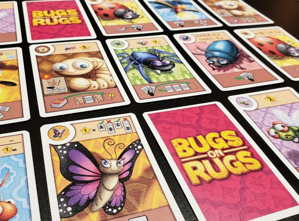 One Board Family Bugs On Rugs Review Punchboard Media