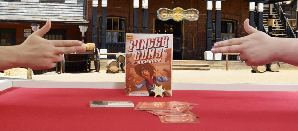 One Board Family: Finger Guns at High Noon Review — Punchboard Media