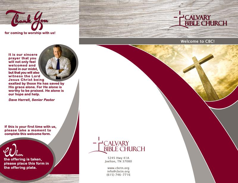 Calvary Bible Church Guest Brochure
