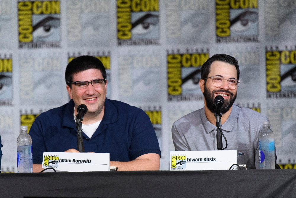 "Creators and executive producers of ""Once Upon a Time,"" Adam Horowitz and Edward Kitsis (ABC/Todd Wawrychuk)"