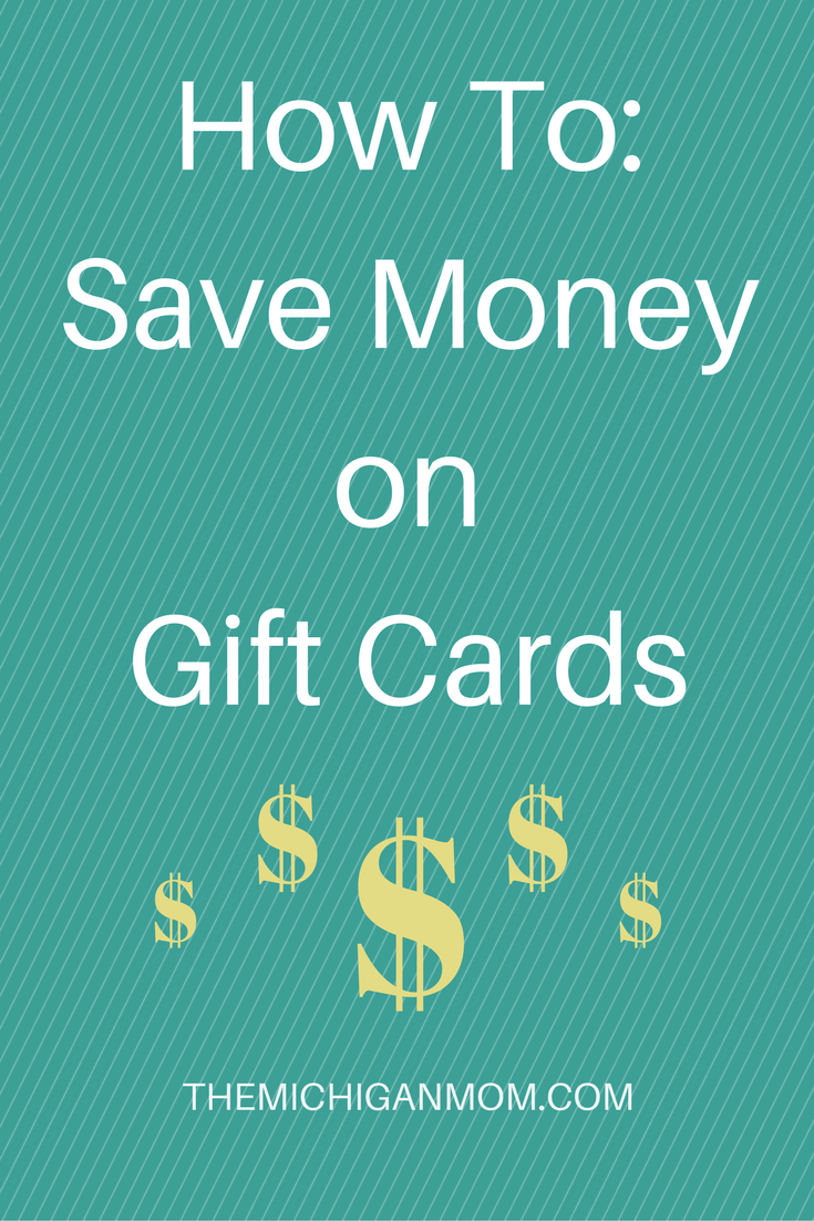How To Save Money on Gift Cards