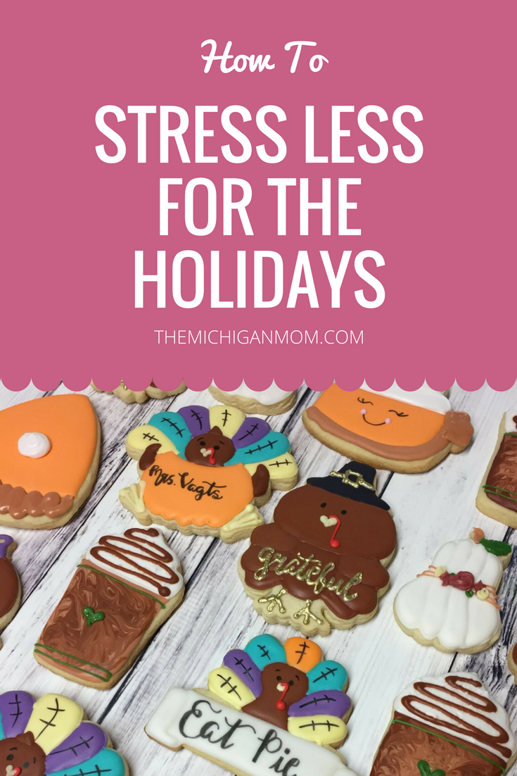 stress less for holidays