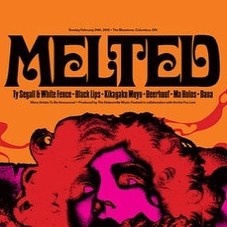 If you're going to be anywhere within driving distance of Columbus, Ohio on Sunday, February 24, you must go to the Melted Music Festival. The lineup is sick! http://meltedmusicfest.com/ #rockandroll #fuzz #ohio #columbusohio #musicfestival