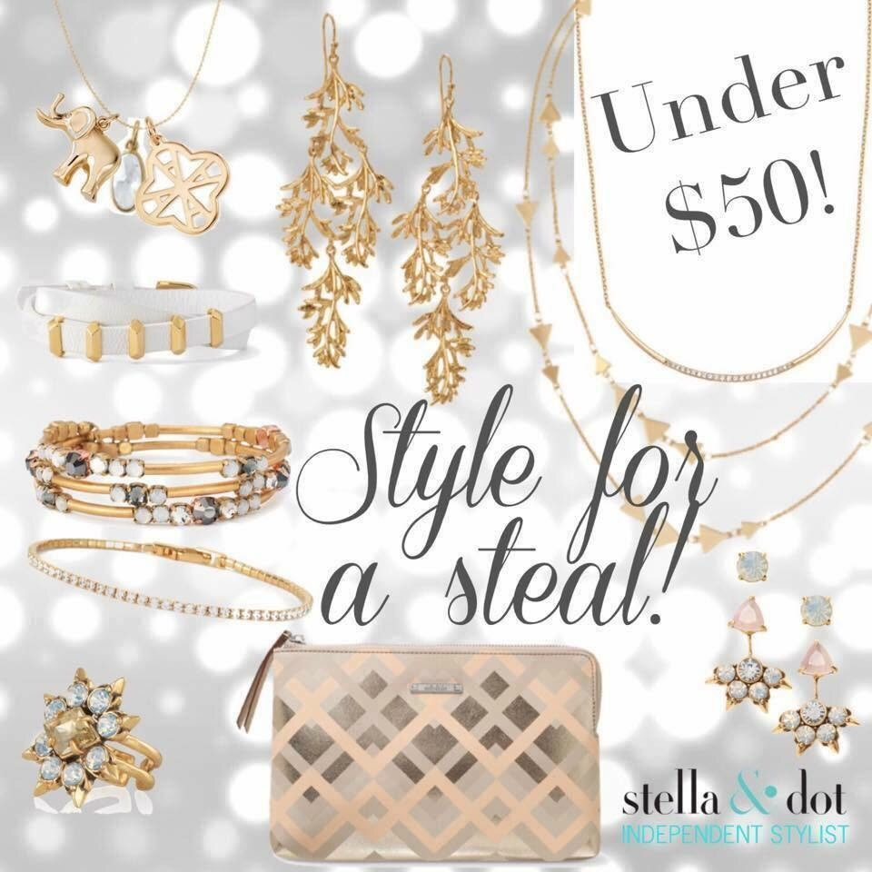 Stella & dot is beauty, fashion, and career all rolled into one. Stella & Dot's product lines feature well-designed jewelry pieces for the modern women.