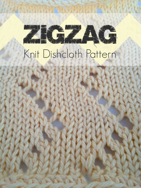 Stitches Be Cray — Zigzag Knit