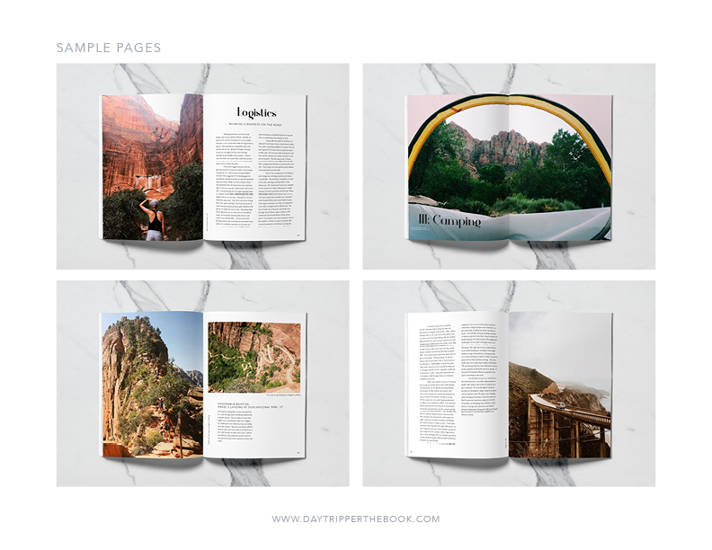 Sample page designs