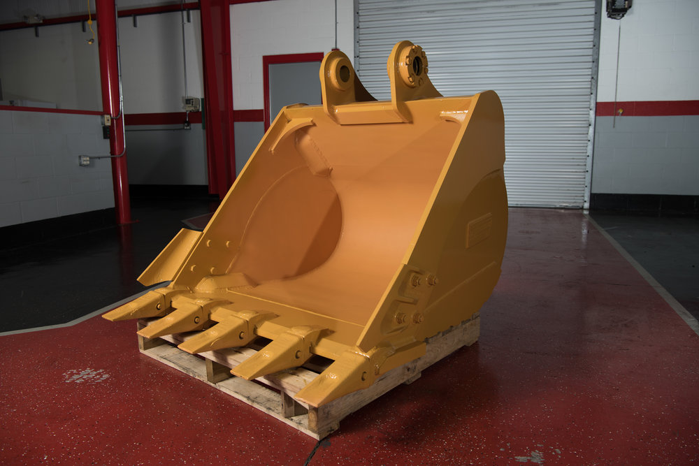 Heavy Duty Excavator Bucket Attachment