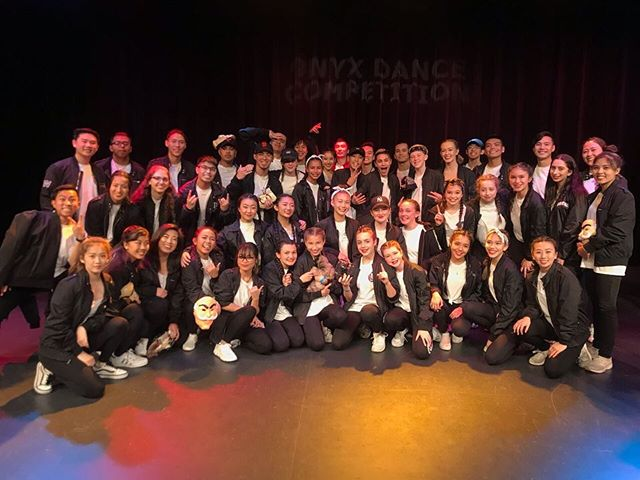 1st place at Onyx Dance Competition🥇🎉We had a blast! @onyx_dance ~ • ~ • ~ •  #dance #hiphop #sanmateo #krazy8 #damnstr8 #str8jacket #urbandance #onyx #santaclara