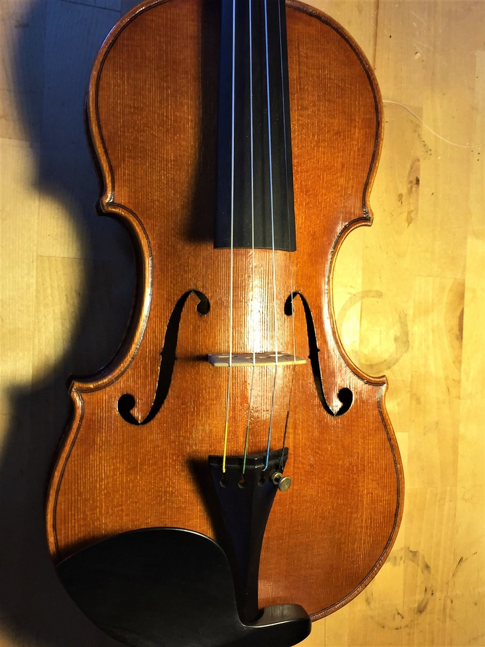 Finished Guarneri model