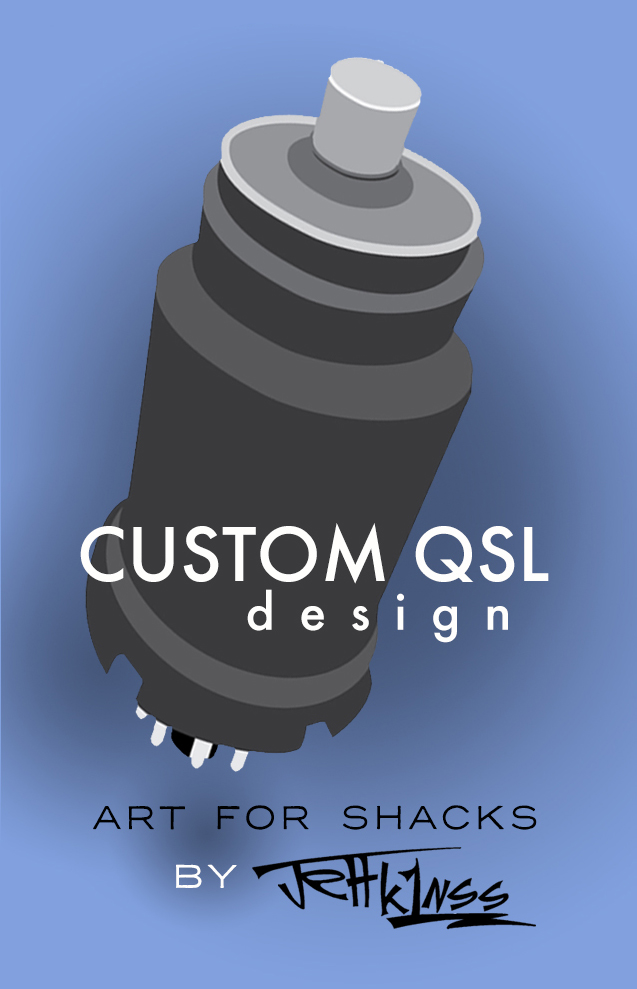HAM GRAPHICS+ - Custom QSL designLogo designCartoons & illustrationsAdversting graphicsFun portraits & all occassion graphics