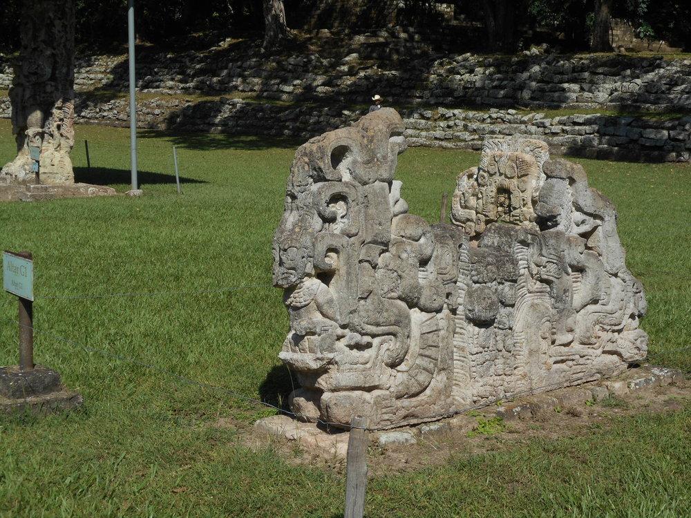 ©AJ9C Mayan garden gnome.