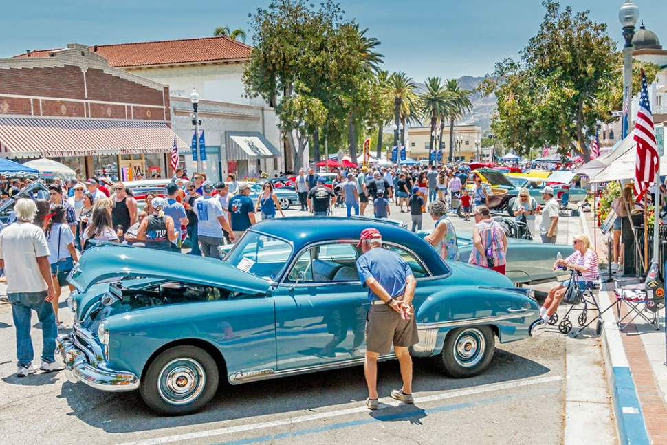 Downtown Fillmore  4th of July Car Show