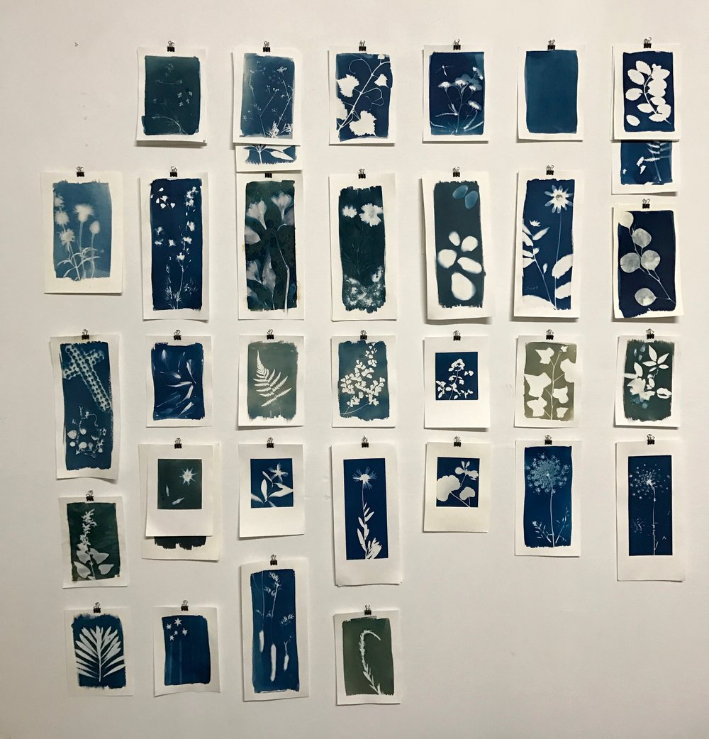 A Month of Blue