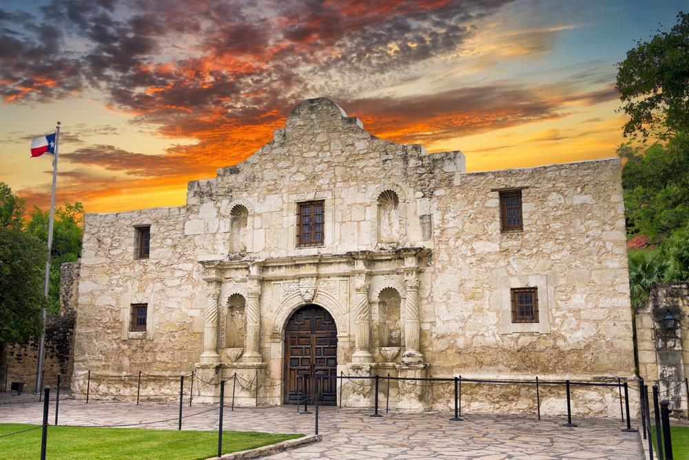 The Alamo, Cradle of Texas Liberty!