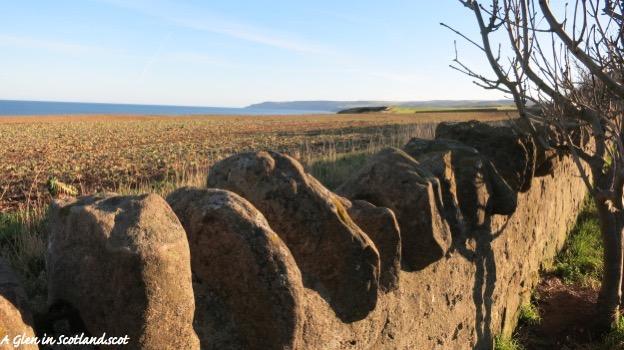 Stone Wall, North Sea, Eyemouth