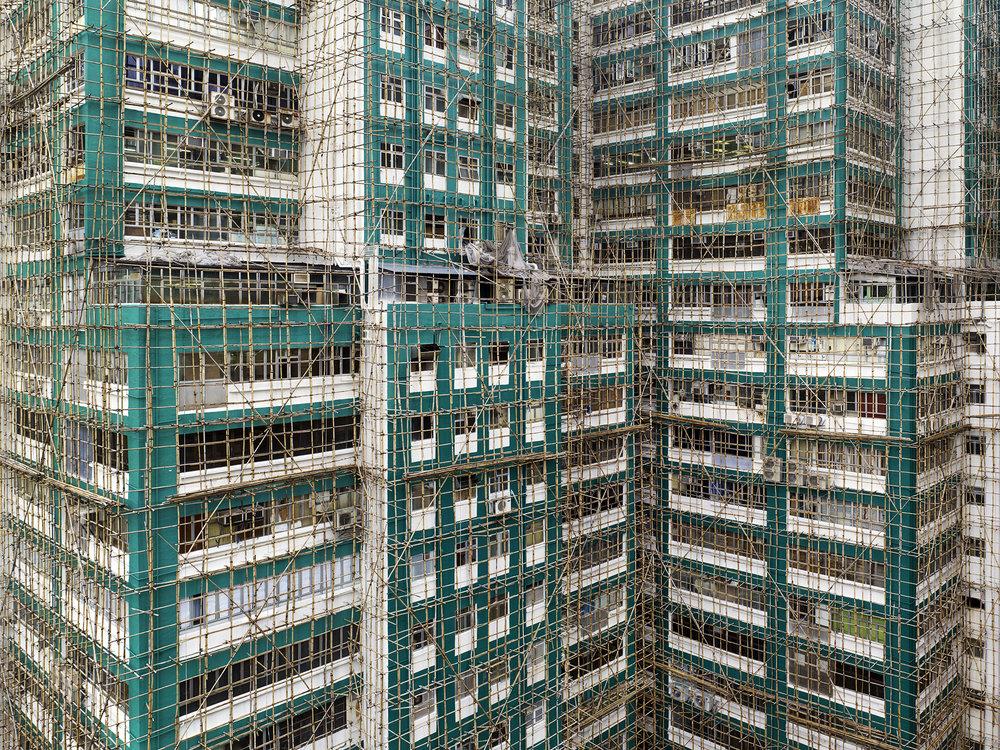 Aqua Cocoon Cage #2, Hong Kong - 2012
