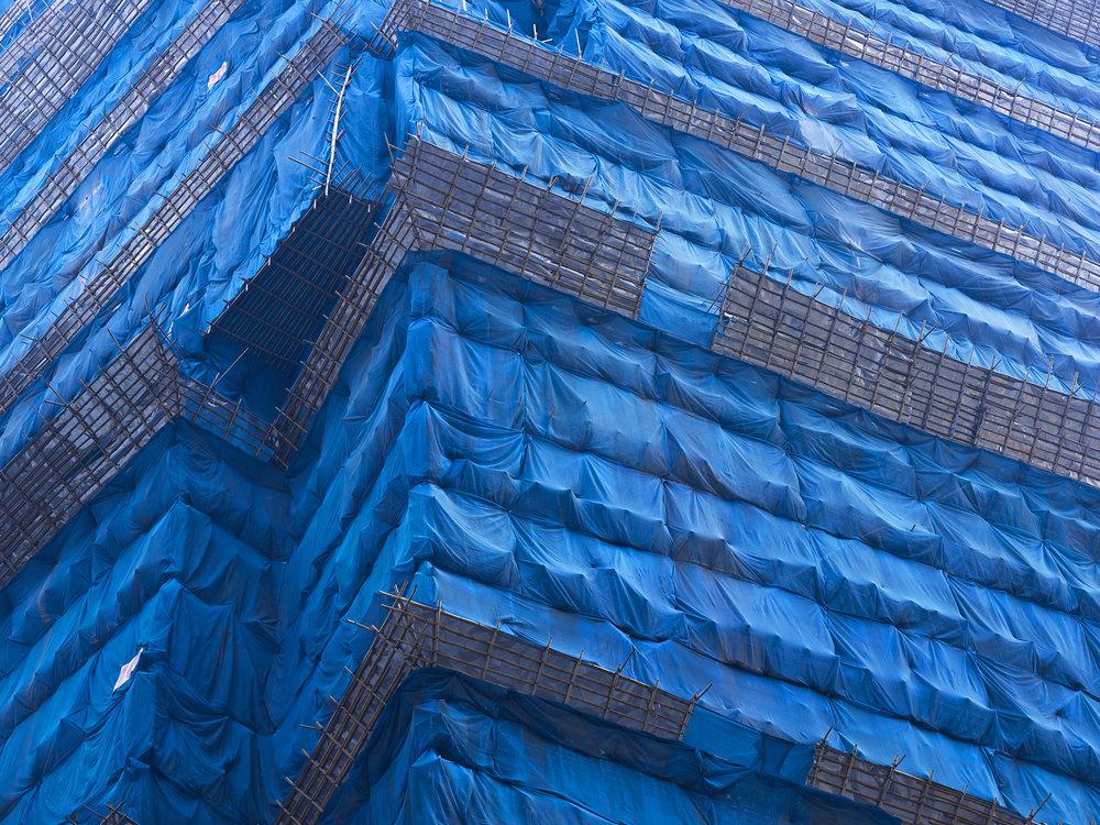 Blue Cocoon #7, Kong Kong - 2011