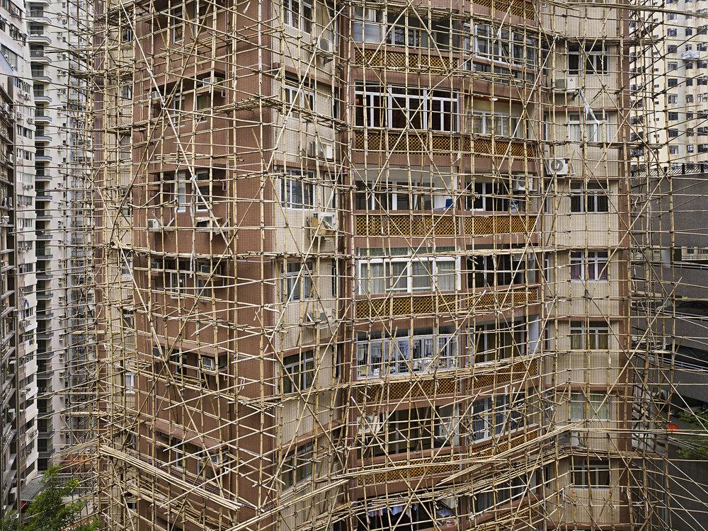Bamboo Cage #2, Hong Kong - 2011