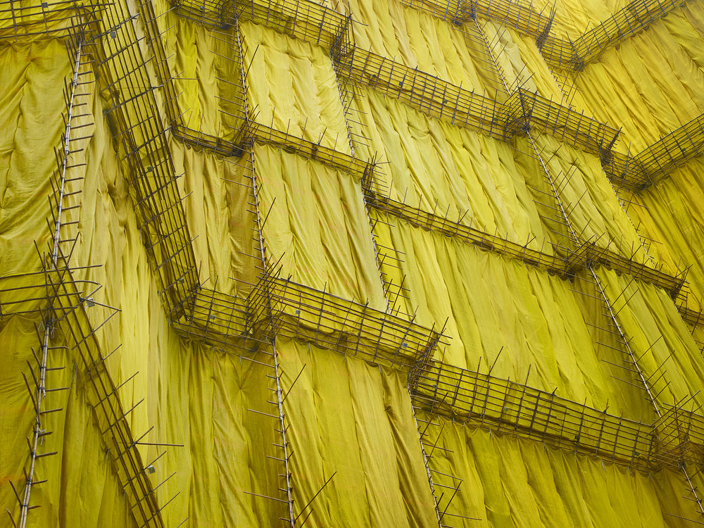 Yellow Cocoon #5, Hong Kong - 2011