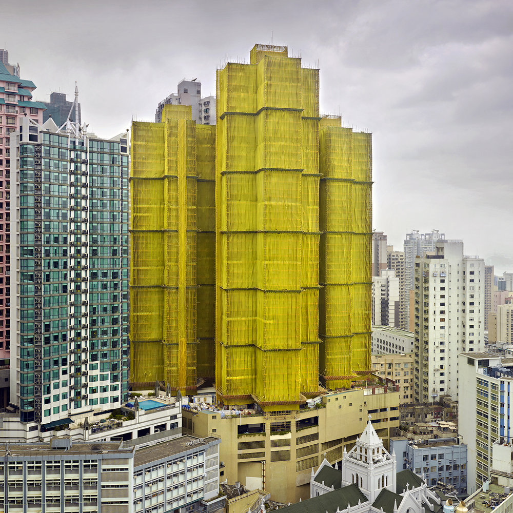 Yellow Cocoon #1, Hong Kong - 2010