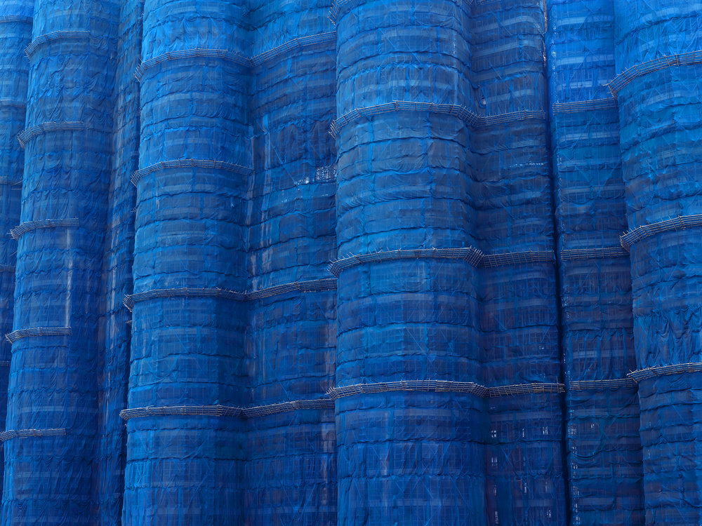 Blue Cocoon #1, hong Kong - 2008