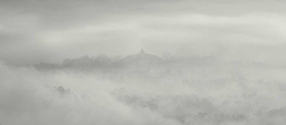 Morning Fog, Borobudur, Indonesia - 2012.jpg