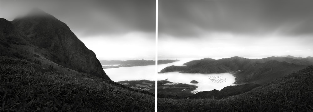 Ma On Shan View, Hong Kong - 2008 (Diptych).jpg