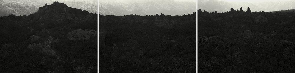 Batur Lava Fields, Bali - 2010 (triptych) copy.jpg