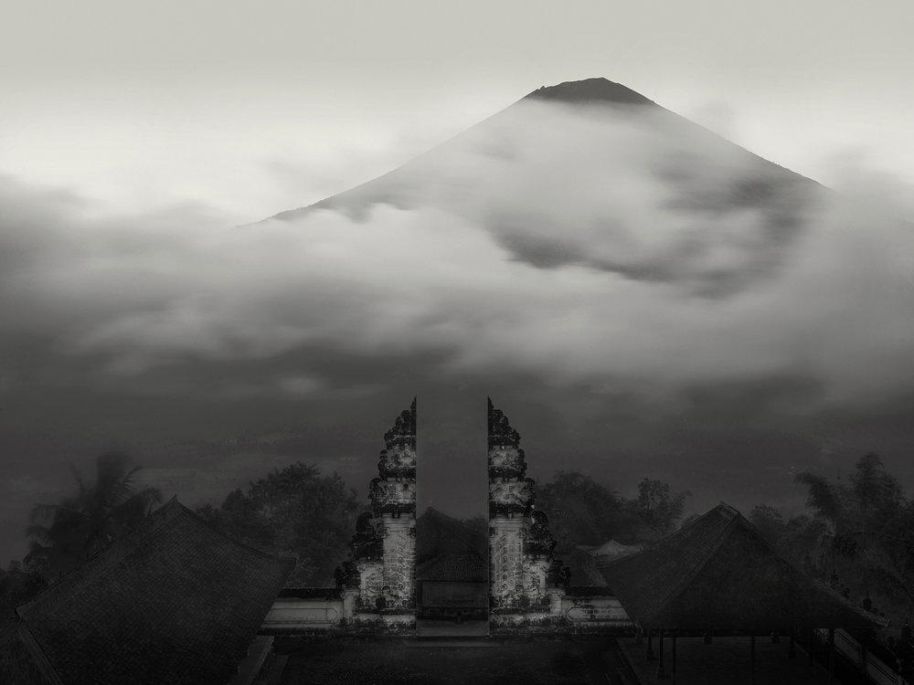 Temple View, Mt. Agung, Bali, - 2010  copy.jpg