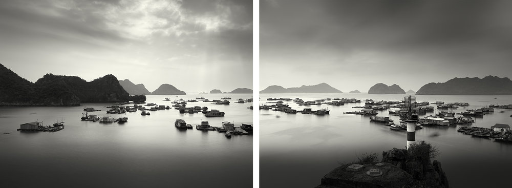 Cat Ba Point, Ha Long Bay - 2011 (diptych).jpg