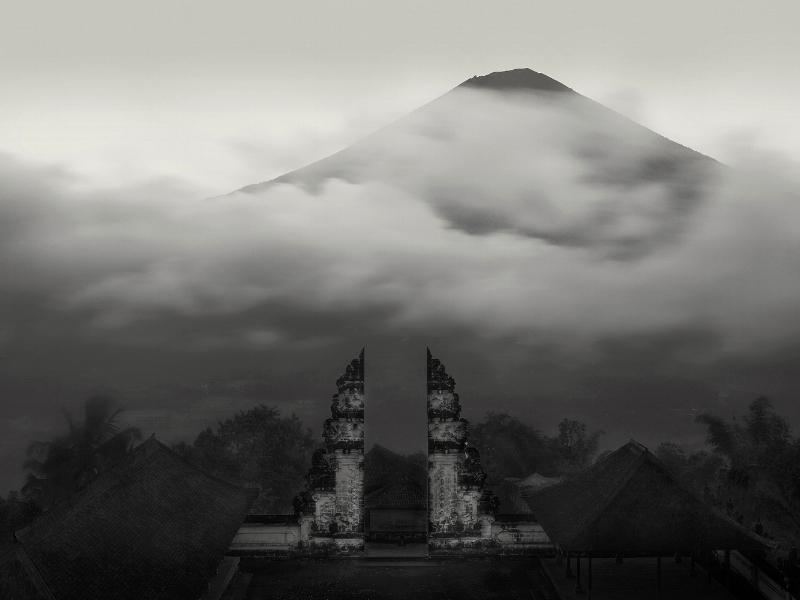Temple View, Mt. Agung, Bali, - 2010