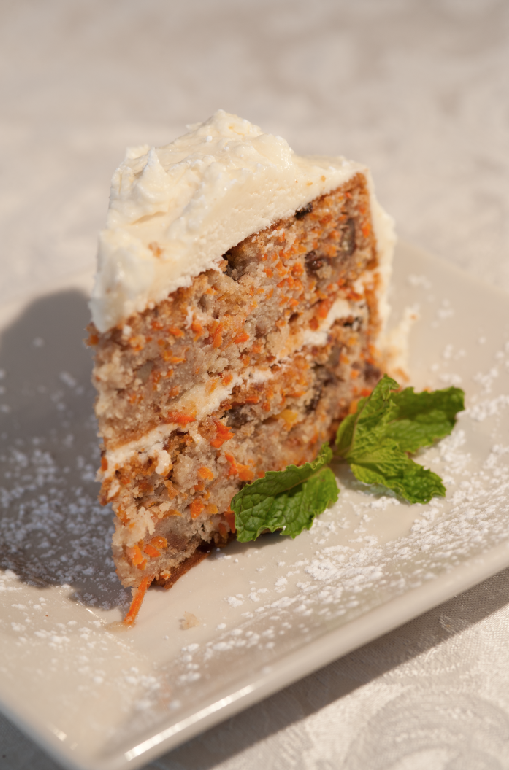 Belle and Maxwells Carrot Cake