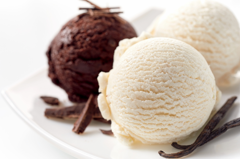 French Vanilla or Chocolate Ice Cream  - Single Scoop $2 Double Scoop $4 Add Butterscotch Caramel Sauce $1