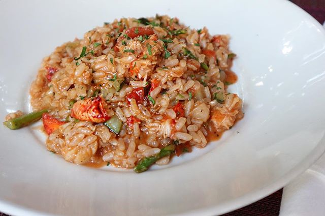 Come try our Dinner special! Delicious Lobster Risotto!#finedine #lobsterrisotto #westpalmbeachrestaurants