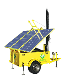 1.2 kWh Solar Light Tower Generator