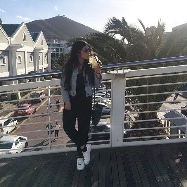 Mango' . . . . . #waterfront #southafrica #capetown #vacation #mangoslush #denim #leather #longhair #toronto #uk #instagood #instafashion #igdaily #ootd #iphone
