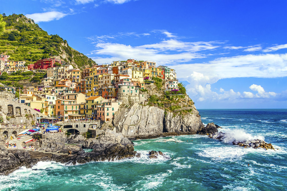 Manarola on the Cinque Terre coast, La Spezia, Liguria, northern Italy.jpg