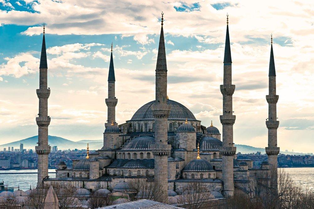 Blue Mosque, Sultanahmet Camii , Istanbul, Turkey.jpg