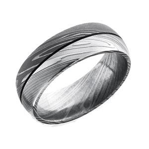 Damascus Steel Wedding Rings Unique Titanium Wedding Rings
