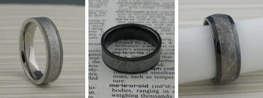 Go to Meteorite Wedding Rings