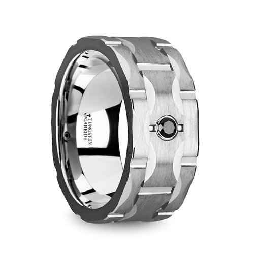 Thorsten Wedding Rings — Unique Titanium Wedding Rings