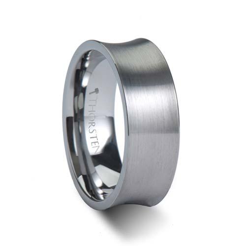 Thorsten Tucson Concave Tungsten Wedding Ring