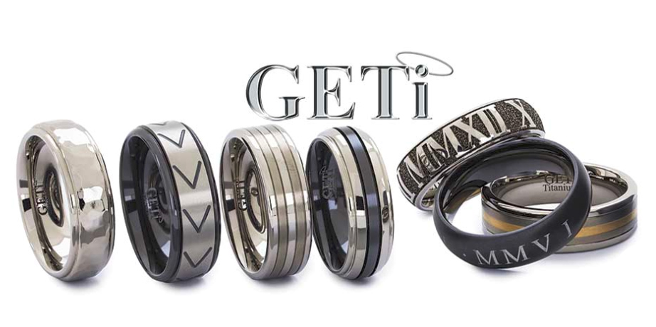 GETi Titanium Wedding Bands
