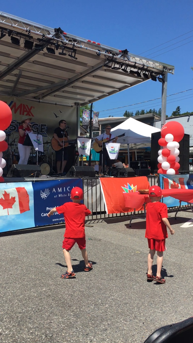 Dancers to Seabilly's on Canada Day, White Rock Beach 2017.jpg