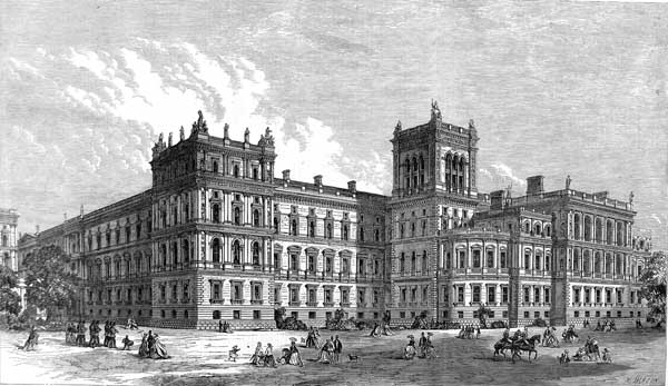 The Colonial Office. The  General Hospital  of the British Empire.
