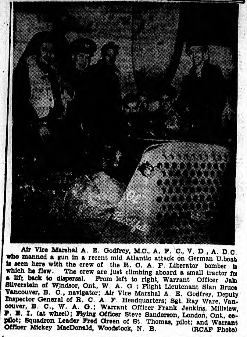 Published in  The Charlottetown Guardian  on October 5th, 1943.